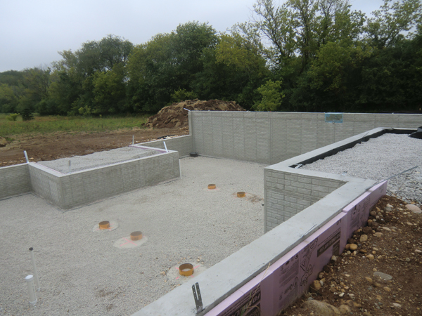 New House Construction | Laying Foundation | Vertical Works