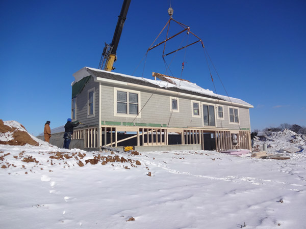 Modular Home Construction | New Home Company | Vertical Works